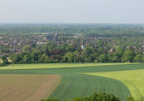 Blick von der Sonsbeck Schweiz auf Sonsbeck